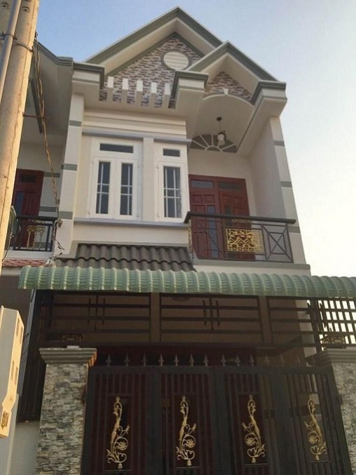 Chỉ 480tr, sở hữu nhà 1L, SHR dt 5x20m, cách chợ Bình Chánh 5', tặng 5 chỉ vàng lấy lộc.