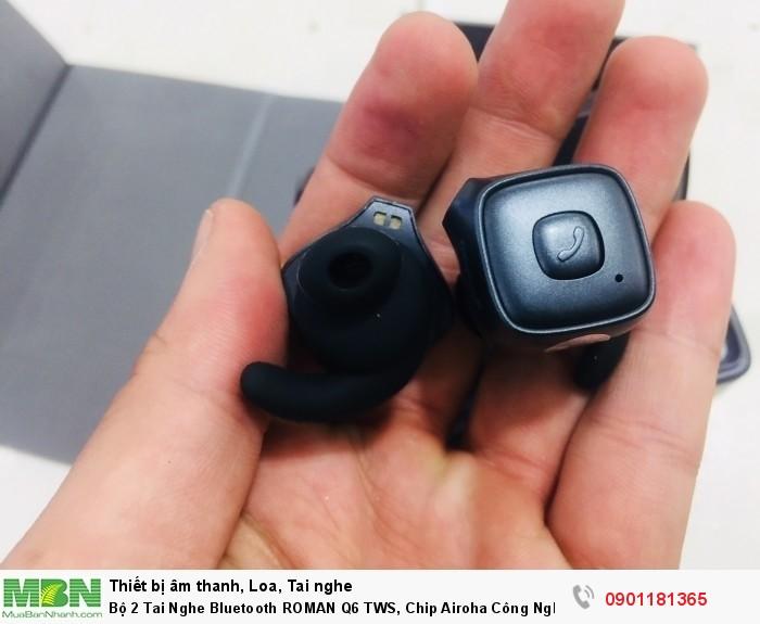 Bộ 2 Tai Nghe Bluetooth ROMAN Q6 TWS, Chip Airoha Công Nghệ Âm Thanh Đỉnh Cao - MSN1812866