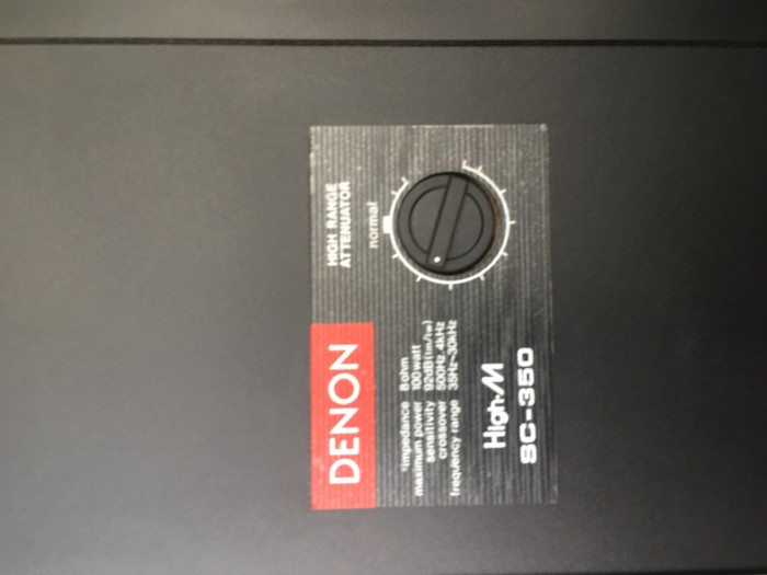 Chuyên bán Loa DENON  SC 350 hàng bải tuyển chọn từ nhật về