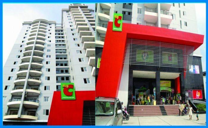 Căn hộ Big C- Tân Phú,nằm trên đường Nguyễn Sơn, 60m2