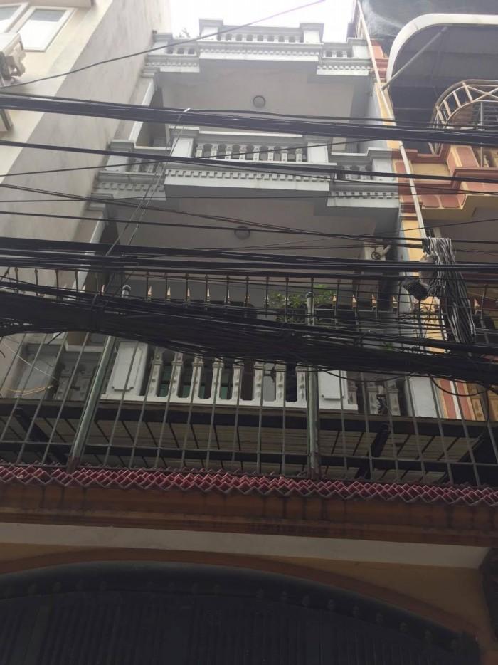 Bán nhà 25m x6 tầng giá rẻ 1,67 tỷ tại Hồng Mai, HBT.
