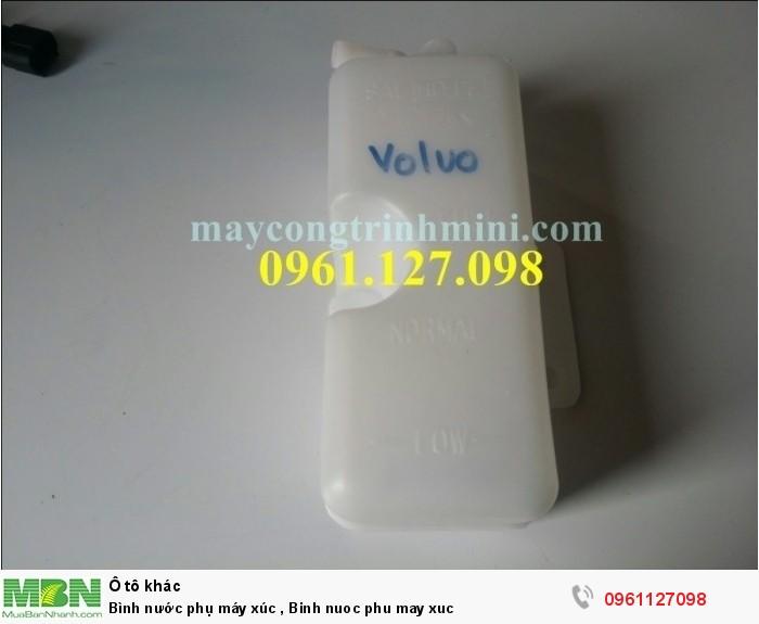 Bình nước phụ máy xúc , Binh nuoc phu may xuc