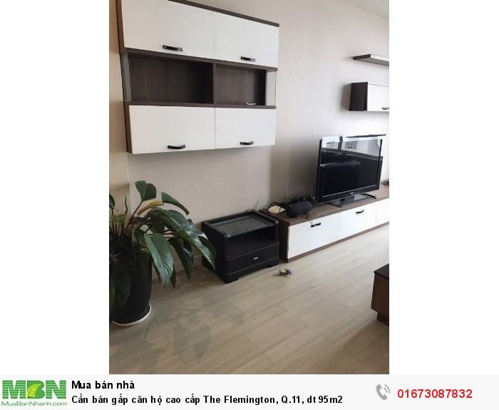 Cần bán gấp căn hộ cao cấp The Flemington, Q.11, dt 95m2