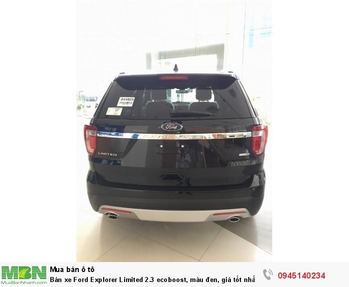 Bán xe Ford Explorer Limited 2.3 ecoboost, màu đen, giá tốt nhất, giao xe tận nhà.
