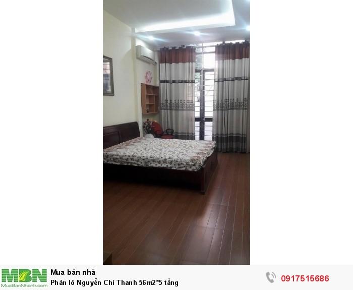 Phân lô Nguyễn Chí Thanh 56m2*5 tầng