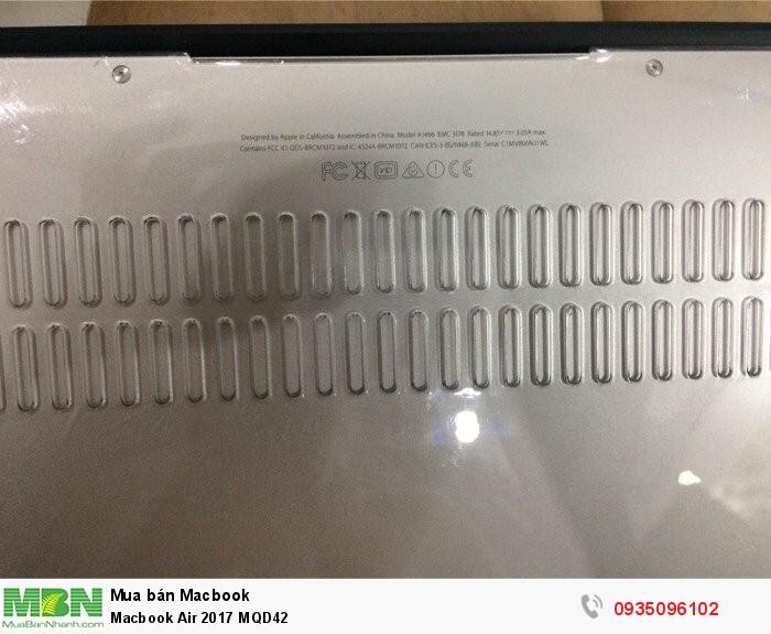 Macbook Air 2017 MQD423