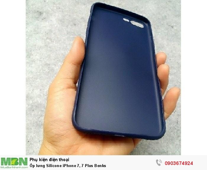 Ốp lưng Silicone iPhone 7, 7 Plus Benks