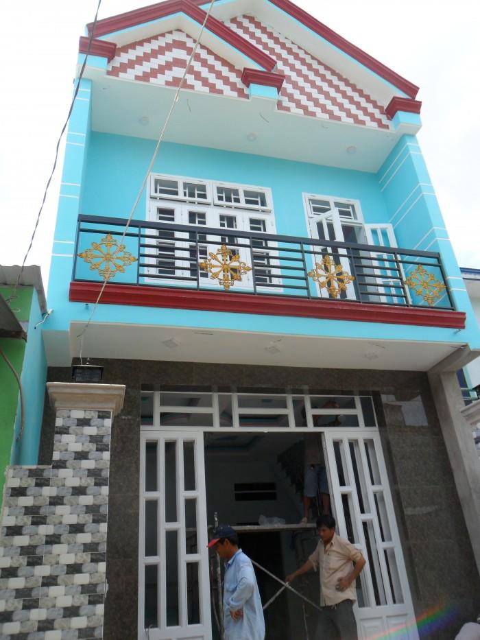 Cần tiền bán gấp nhà 1 tầng, ngay ngã tư hãng nước đá đường Nguyễn Ảnh Thủ, DT: 5m x 11m, Sổ hồng chính chủ,Giá: 2,95 tỷ