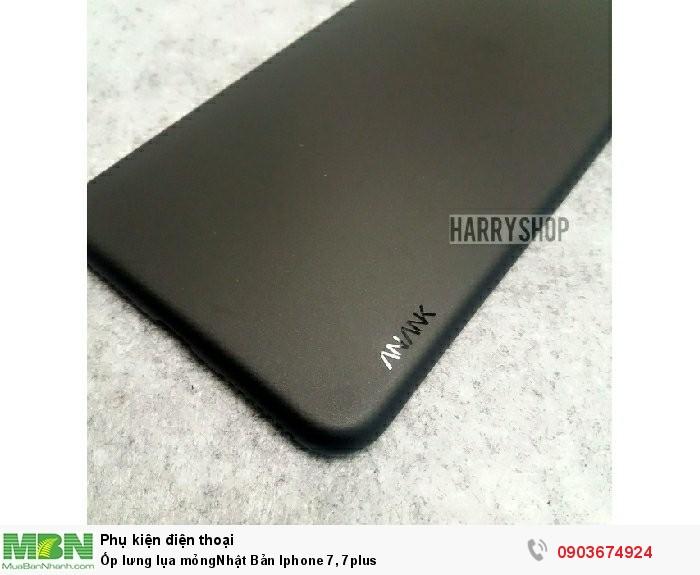Ốp lưng lụa mỏngNhật Bản Iphone 7, 7plus