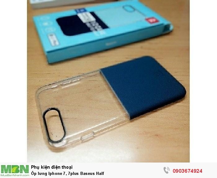 Ốp lưng Iphone 7, 7plus Baseus Half