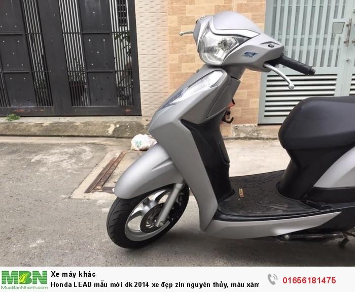 Honda LEAD mẫu mới dk 2014 xe đẹp zin nguyên thủy, màu xám