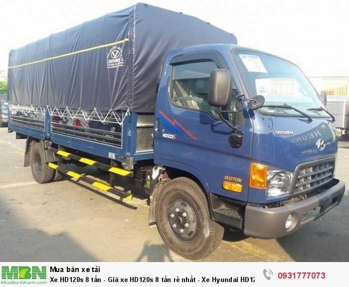 Xe tải Hyundai HD120s đô thành 8.5 tấn được sự hỗ trợ vay vốn của ngân hàng lên đến 80%, thời gian vay 7 năm .