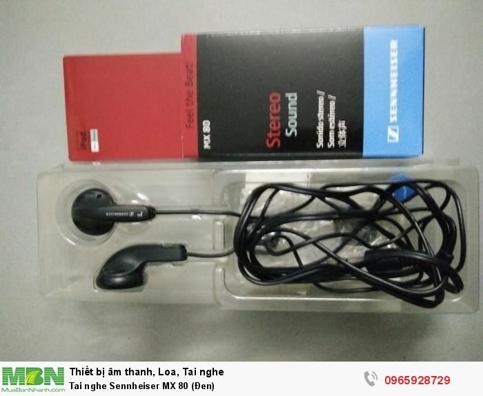 Tai nghe Sennheiser MX 80 (Đen)