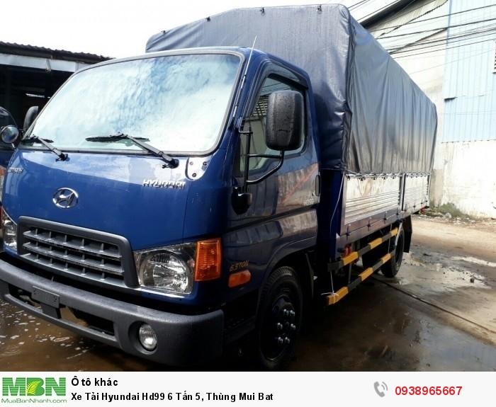 Xe Tải Hyundai Hd99 6 Tấn 5, Thùng Mui Bat