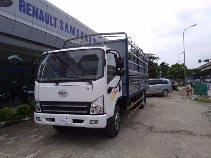 xe tải faw,động cơ hyundai 7t357350kg Trọng tải cho phép lưu hành không cần xin phép: 7.300 kG