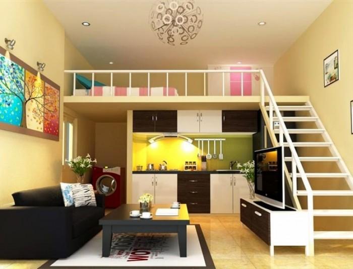 Cho thuê nhà  chung cư l1 Hàm Nghi, P.bt, Q.1; DT=60m2