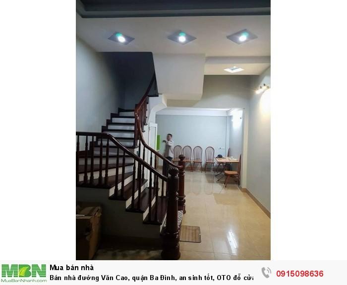 Bán nhà đường Văn Cao, quận Ba Đình, an sinh tốt, OTO đỗ cửa, 45m x 5 tầng