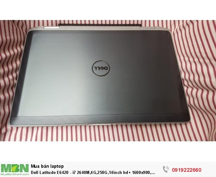 Dell Latitude E6420 - i7 2640M,4G,250G,14inch hd+ 1600x900, webcam,bluetooth, đèn bàn phím,máy đẹp0
