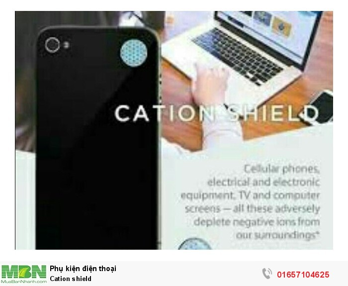 Cation shield