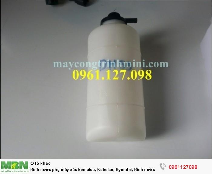 Bình nước phụ máy xúc komatsu, Kobelco, Hyundai, Bình nước phụ máy doosan, sola ...