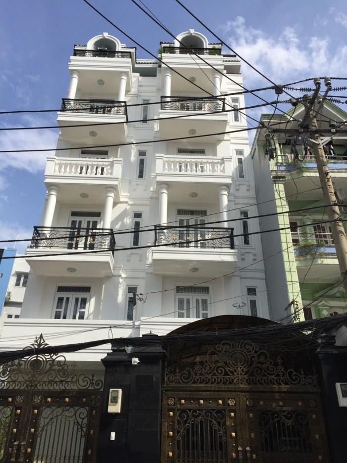 Nhà 5 tầng MT Nguyễn Văn Đậu, đang kinh doanh 8 căn hộ cao cấp, giá 13.9 tỷ