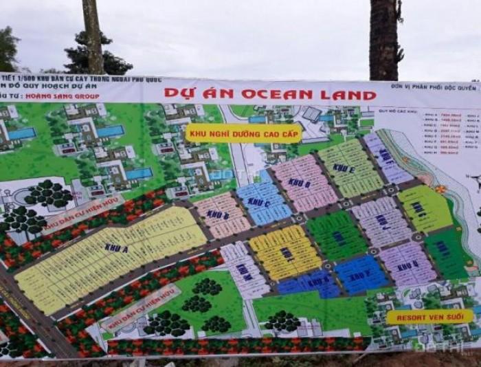 Đất nền siêu phẩm Phú Quốc, xây dựng tự do, chiết khấu khủng 16% nhanh tay nào