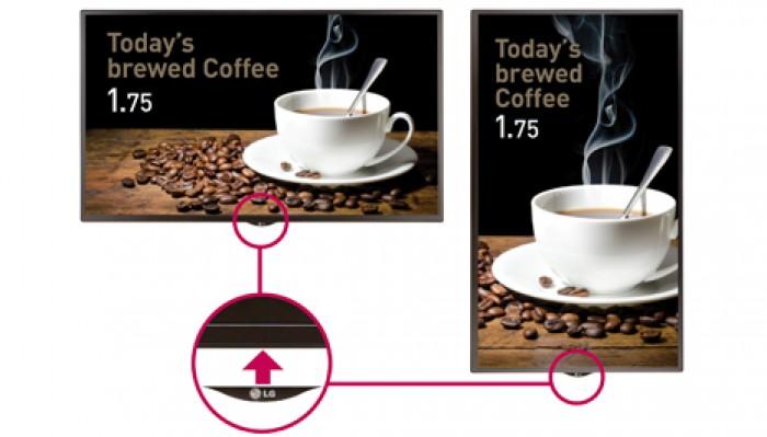 Logo có thể di chuyển: logo di chuyển được cho phép đặt logo của màn hình tại bất kỳ địa điểm mong muốn nào khi treo theo chiều dọc hoặc ngang6