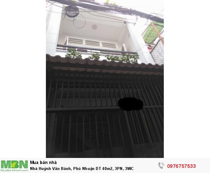 Nhà Huỳnh Văn Bánh, Phú Nhuận  DT 40m2, 3PN, 3WC