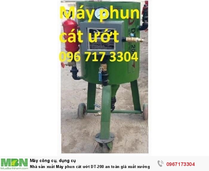 Máy phun cát ướt DT-200 giá sản xuất0