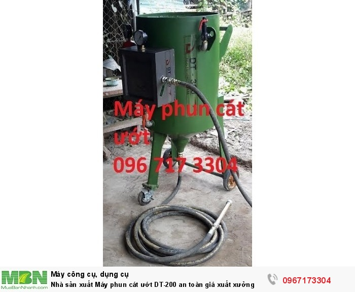 Máy phun cát ướt DT-200 giá sản xuất1