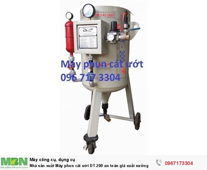 Máy phun cát ướt DT-200 giá sản xuất3