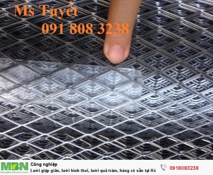 Lưới giập giãn, lưới hình thoi, lưới quả trám, hàng có sẵn tại Hà Nội0