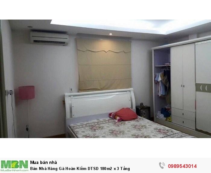 Bán Nhà Hàng Gà Hoàn Kiếm DTSD 180m2 x 3 Tầng