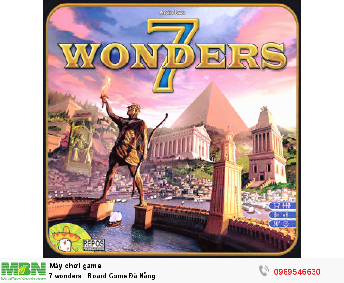 7 wonders - Board Game Đà Nẵng