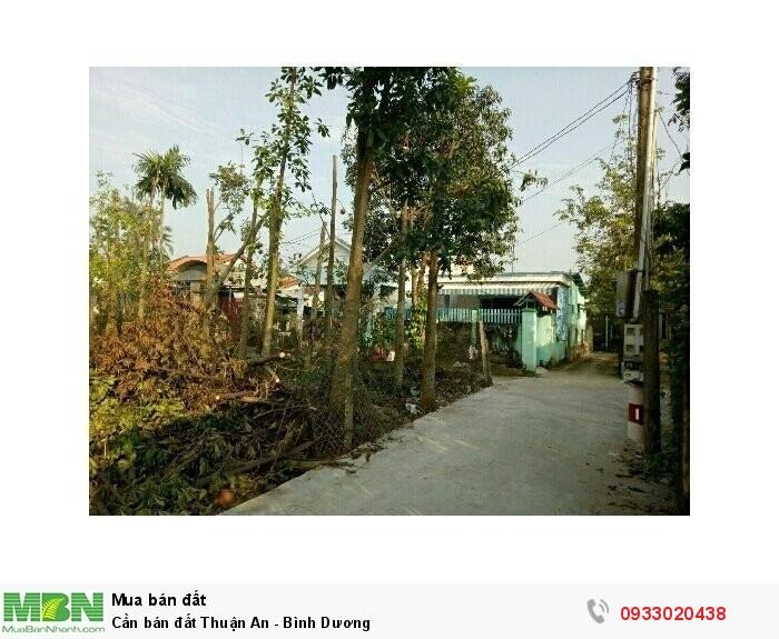 Cần bán đất Thuận An - Bình Dương