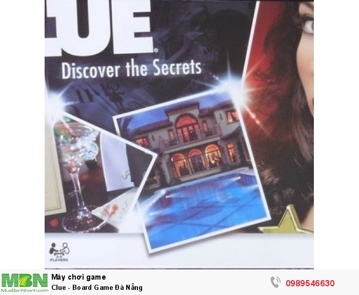 Clue - Board Game Đà Nẵng