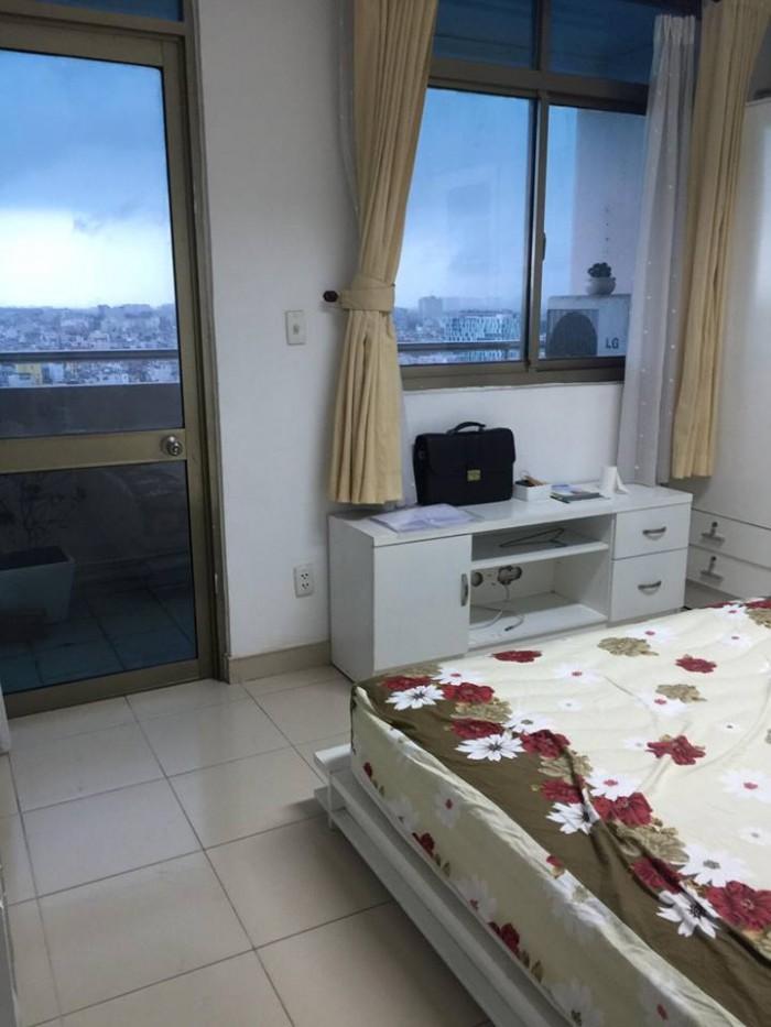 Cho thuê căn hộ chung cư Screc, Quận 3, 81m2, 2 PN, 2WC full nội thất