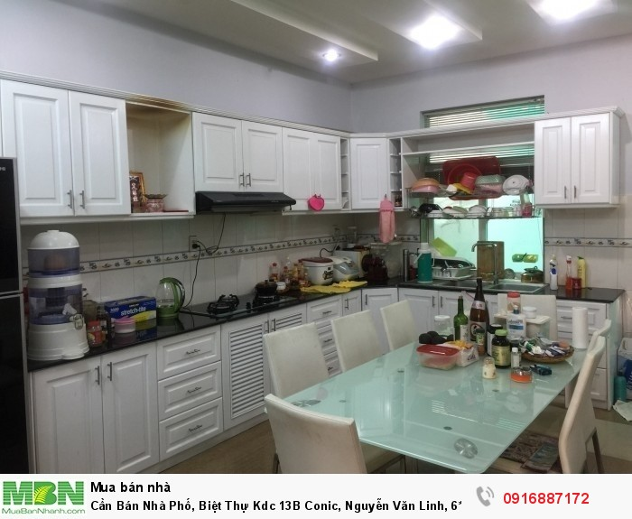 Cần Bán Nhà Phố, Biệt Thự Kdc 13B Conic, Nguyễn Văn Linh, 6*20M