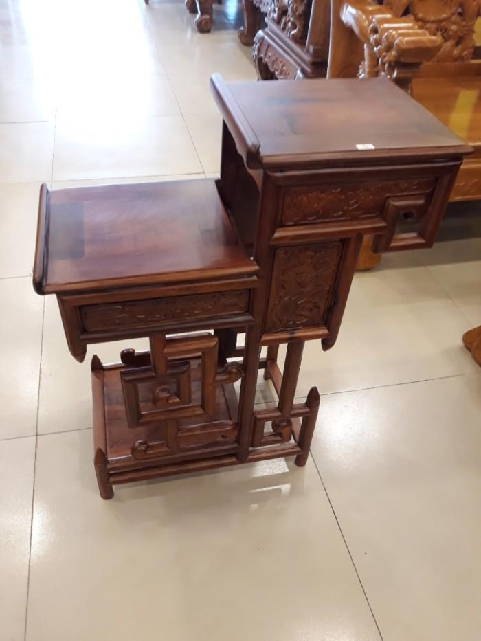 Kệ trưng bày nhỏ gỗ hương - KTB003 - Đồ Gỗ Sơn Đông2
