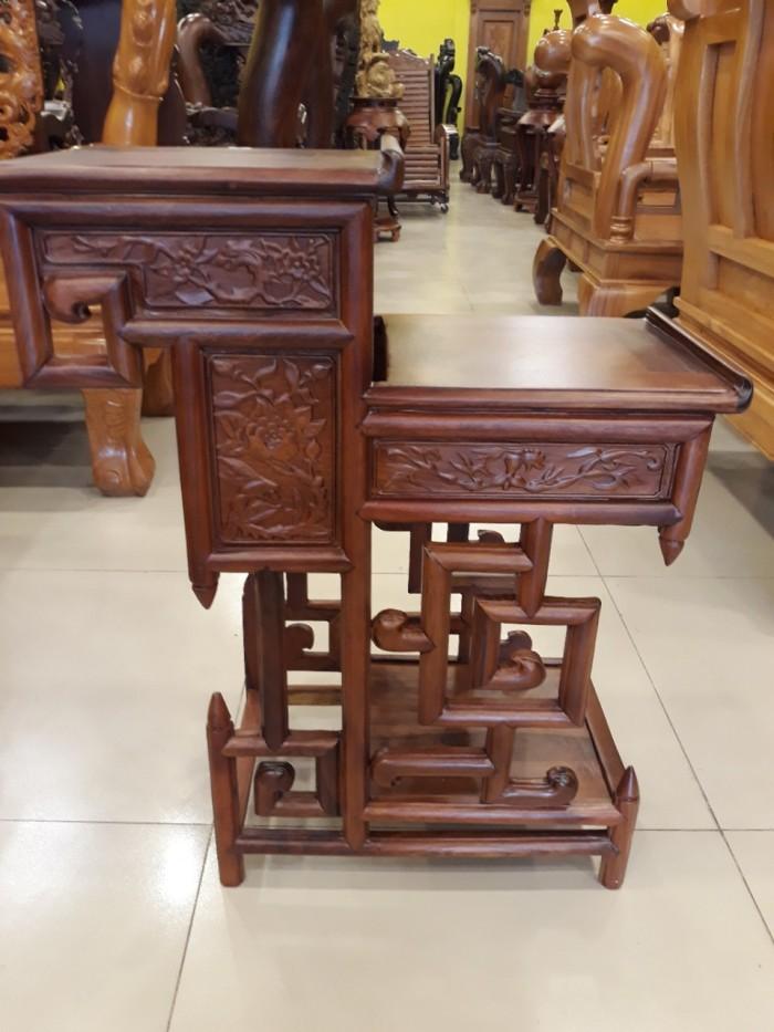 Kệ trưng bày nhỏ gỗ hương - KTB003 - Đồ Gỗ Sơn Đông3