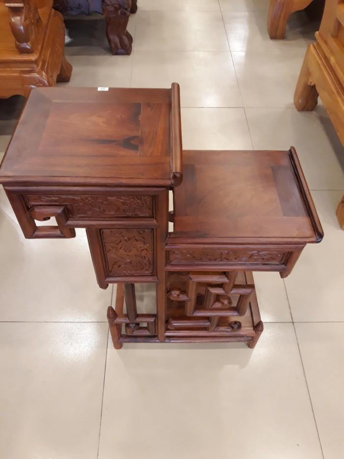 Kệ trưng bày nhỏ gỗ hương - KTB003 - Đồ Gỗ Sơn Đông1