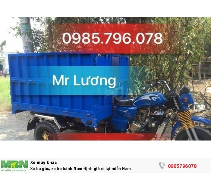 Xe ba gác, xa ba bánh Nam Định giá rẻ tại miền Nam