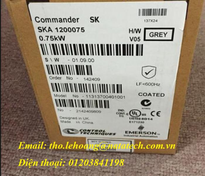 Biến tần EMERSON SKA1200075