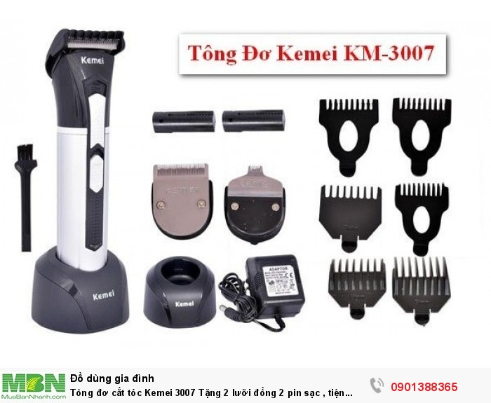 Hàng chất lượng, an toàn, dễ sử dụng, phù hợp cho gia đình, salon, cắt tóc cho trẻ em nhỏ, người lớn4