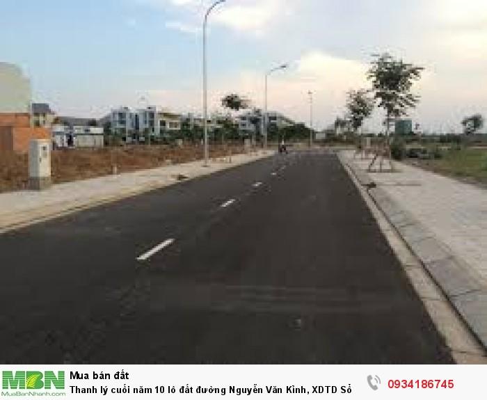 Thanh lý cuối năm 10 lô đất đường Nguyễn Văn Kỉnh, XDTD Sổ hồng từng lô