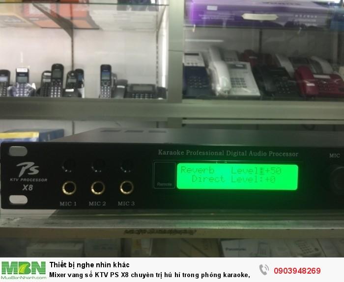 Có 3 công micro vào nên rất dễ sử dụng cho dàn âm thanh cần nhiều đường micro2