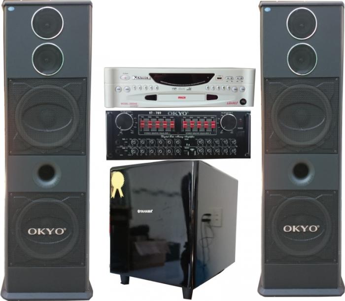 Dàn Karaoke OKYO RTX-999