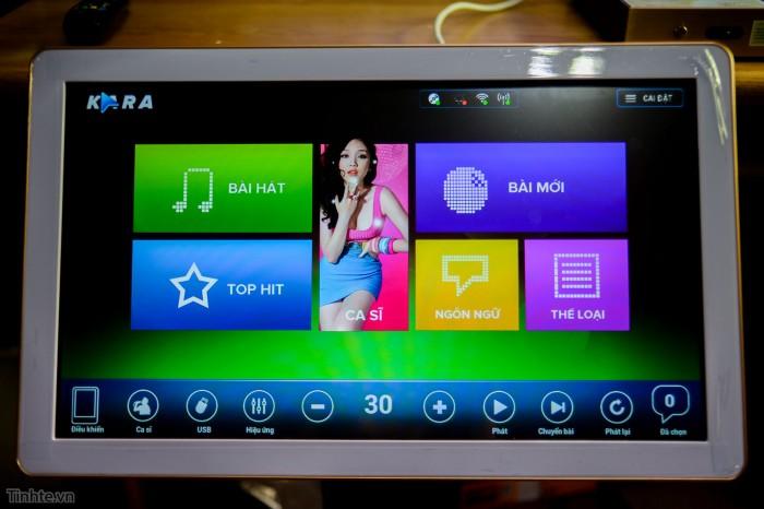 Đầu karaoke Kara M10 M10i loại đầu 3TB, 4TB, 5TB và màn hình cảm ứng karam10