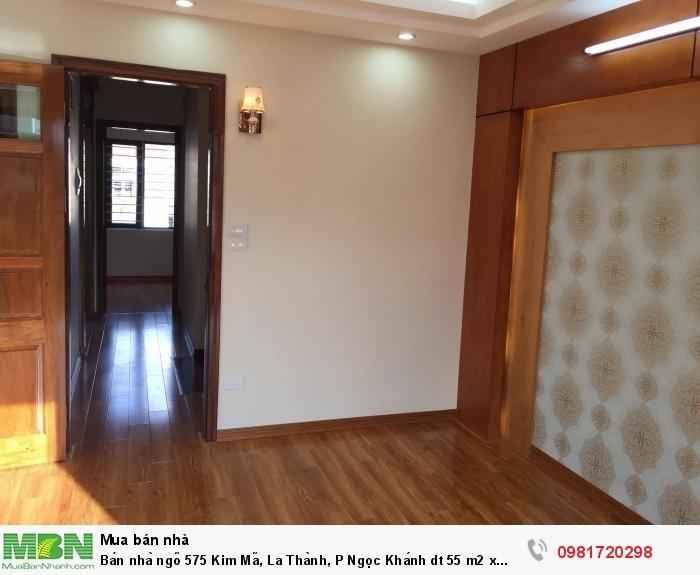 Bán nhà ngõ 575 Kim Mã, La Thành, P Ngọc Khánh dt 55 m2 x 5 t ngõ thông thoáng