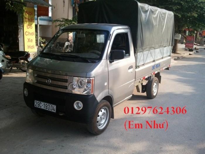 xe tải dong ben khung mui bạt 810 kg